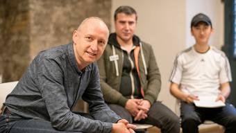 Neben seinem Engagement für das Sprachmobil engagiert sich Billy Meyer auch in der offenen Kirche Elisabethen.