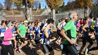 Sonntag, 12. November 2017 in Augst 58. Augusta- Raurica- Lauf – ein Klassiker