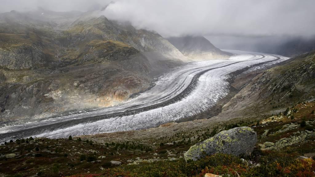 Decke aus Gestein schützt Gletscher besser als vermutet
