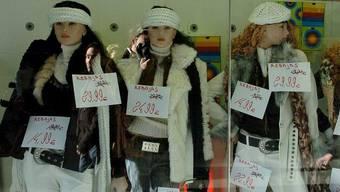 Kamera-Augen von Schaufensterpuppen helfen Modeketten beim Ausspieonieren von Kunden (Symbolbild)