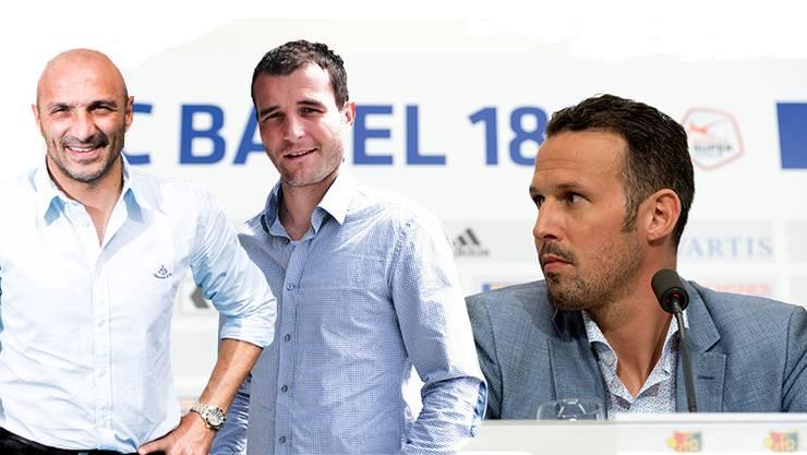 Massimo Ceccaroni, Alex Frei und Marco Streller waren und sind Identifikationsfiguren beim FC Basel. Die drei werden die sportliche Leitung übernehmen.