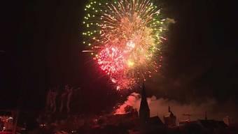 Über Baden ist dieses Jahr am 1. August kein Feuerwerk zu sehen.