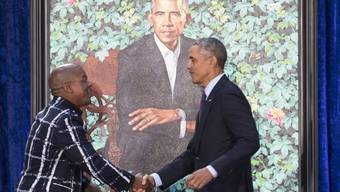 Bilder von Barack und Michelle Obama