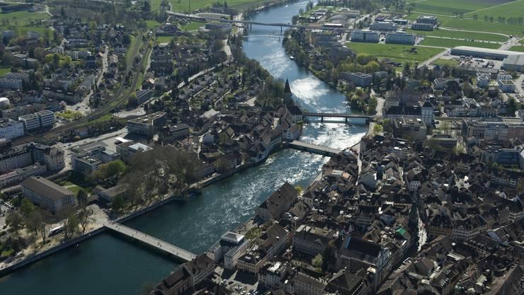 Das räumliche Leitbild skizziert das «Solothurn der Zukunft»