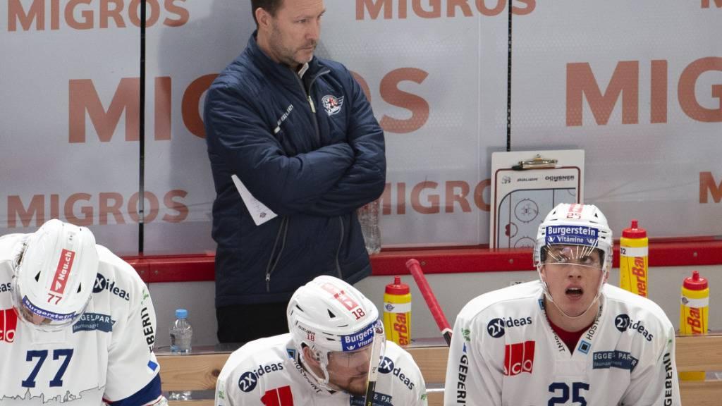 Rapperswil-Jona trennt sich Ende Saison von Coach Tomlinson
