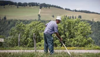 Der Landwirt steht heute nicht mehr nur auf dem Feld oder im Stall. Zunehmend hat er auch einen Büro-Job, was für einige eine grosse Belastung darstellt.