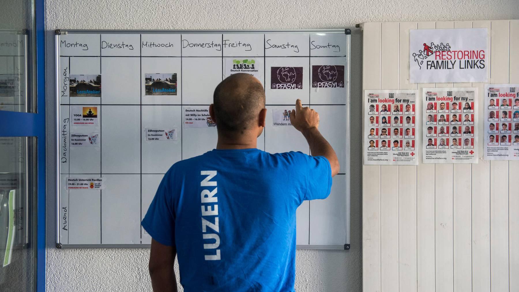 Asylzentrum Rothenburg wird vorzeitig geschlossen