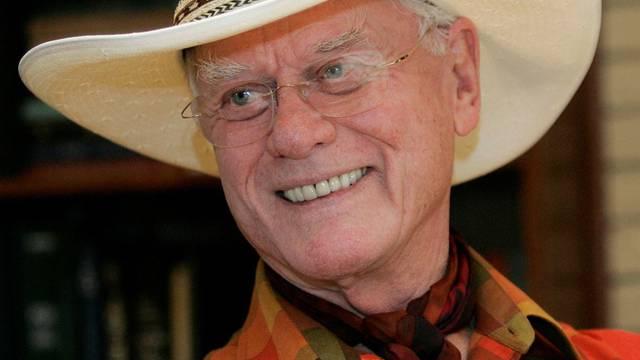 """Freut sich über gutes Ergebnis: """"Dallas""""-Star Larry Hagman (Archiv)"""
