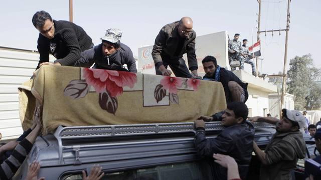 Ein Anschlag auf eine Beerdigungszeremonie erschüttert Bagdad