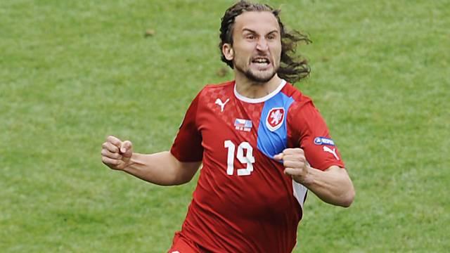 Nach zwei Minuten sorgte Jiracek für das 1:0 der Tschechen.