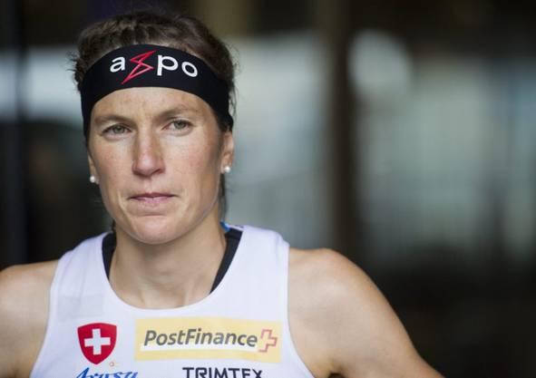 Simone Niggli Luder: Die langjährige OL-Überfliegerin ist das grosse Vorbild von Nachwuchstalent Simona Aebersold.