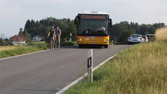 Mit dem Postauto in die Schule: Im Bucheggberg wird dieses Transportmodell angewandt.
