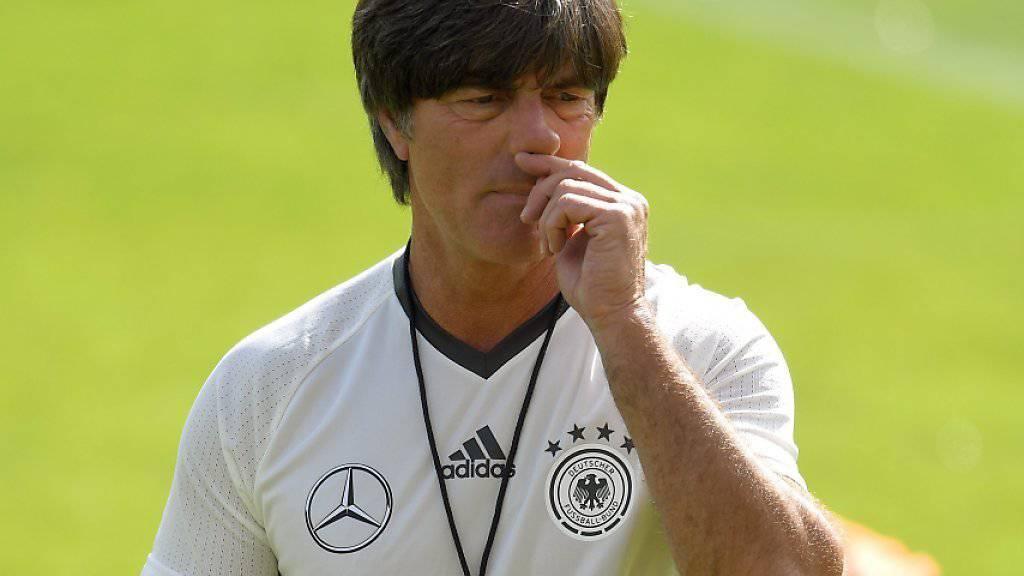 Als Bundestrainer motiviert: Einen Bundesliga-Verein will Joachim Löw aber nie mehr übernehmen