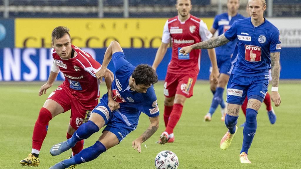 Der FC Luzern empfängt den FC Sion am 4. November