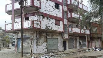 Homs gleicht einer Geisterstadt (Archiv)