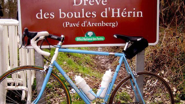 «Mein Velo war im Wald von Arenberg»: Ein mythischer Ort. Foto: Ho