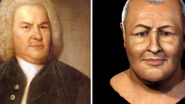 Portrait von Johann Sebastian Bach (Archiv)