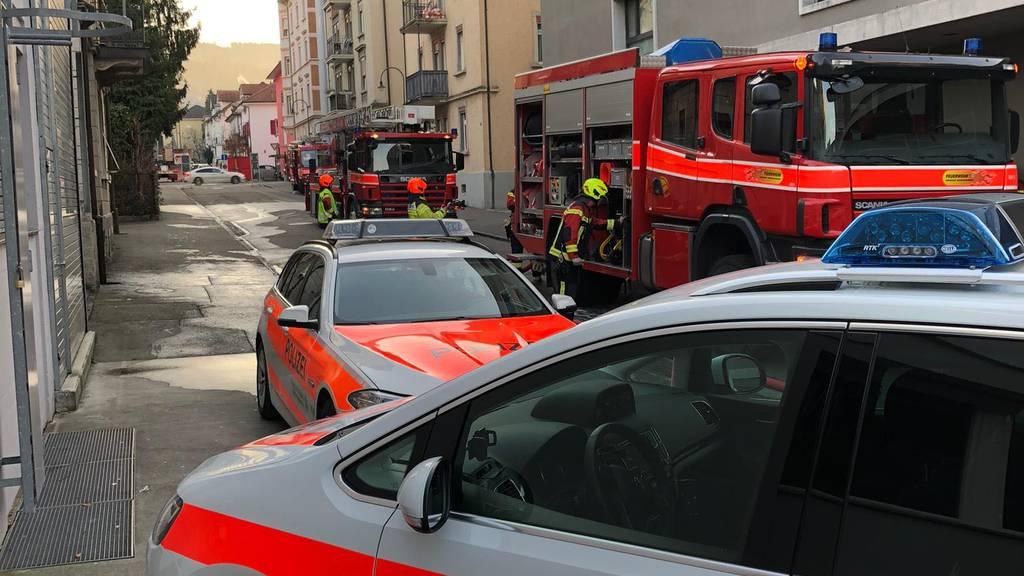 Feuer in Rorschach: «Es gab eine starke Rauchentwicklung»