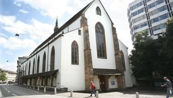 Die Predigerkirche könnte demnächst zur Aufnahmestation für Corona-Verdachtsfälle werden.
