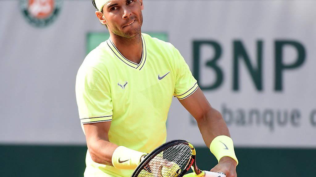 Rafael Nadal machte mit Kei Nishikori kurzen Prozess