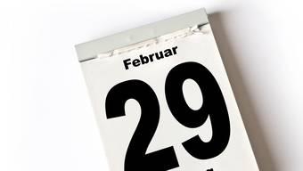 Der 29. Februar gibt es nur alle vier Jahre. (Symbolbild)
