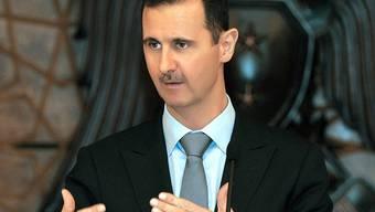 Unerbittlich: Bascha al-Assad und sein Regime (Archiv)