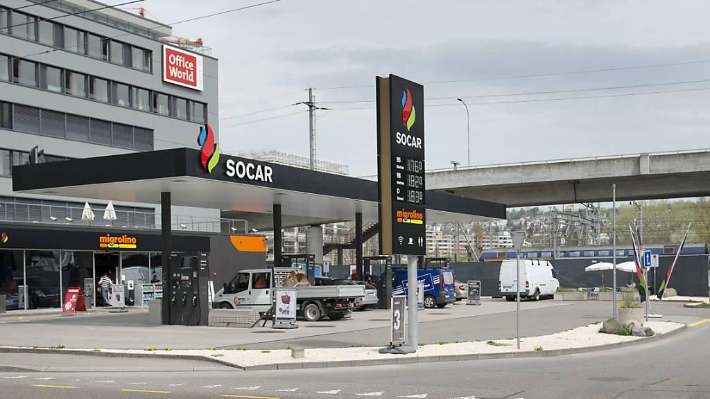 Zahl der Tankstellen in der Schweiz leicht zurückgegangen