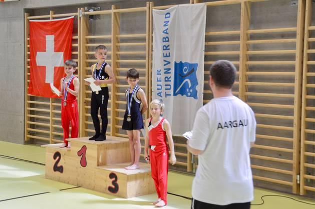 3. Rang für Andrin Pfaffen im K1