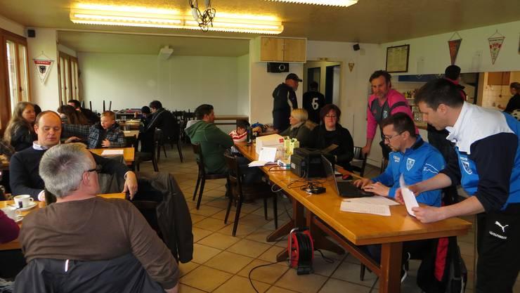Die Administration im Clubhaus