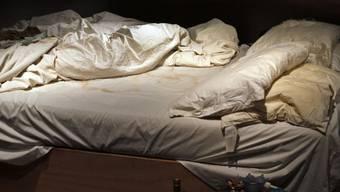 Ja - auch ein ungemachtes Bett kann Kunst sein