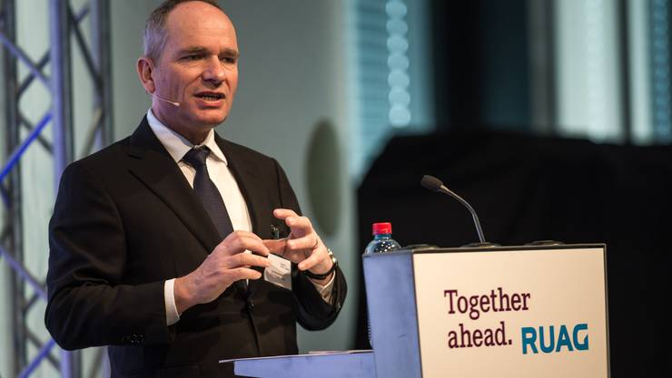 Verlässt den bundeseigenen Rüstungsbetrieb Ruag: CEO Urs Breitmeier.