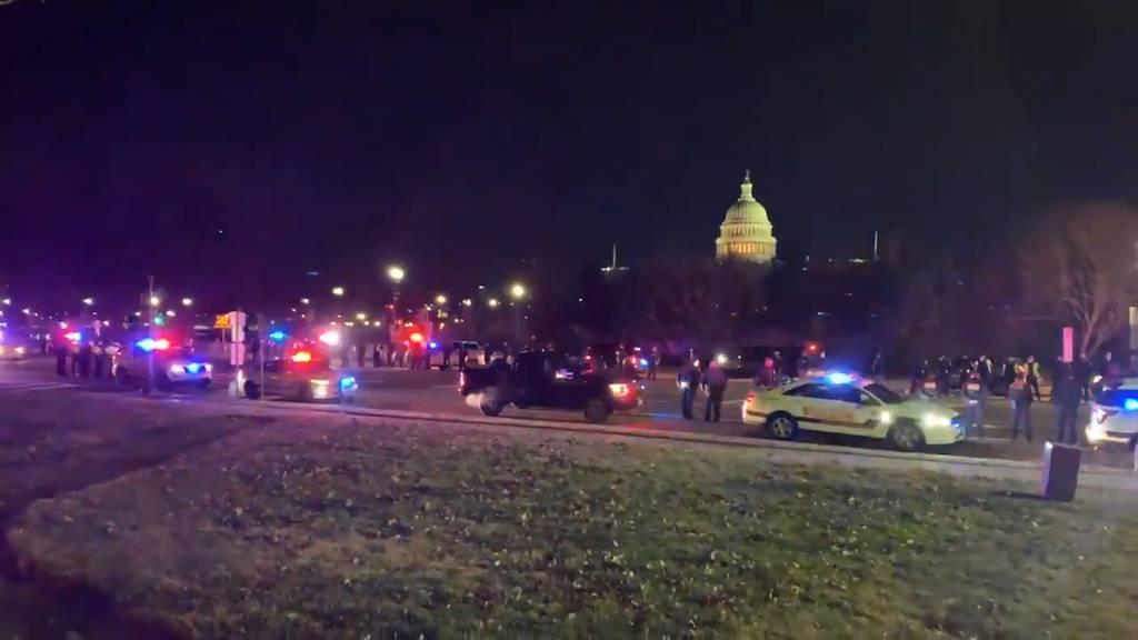 USA: Beamte halten Mahnwache für verstorbenen Kollegen