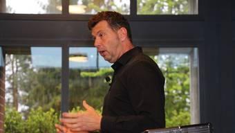 Stefan Hasler ist Präsident der Wohnbaugenossenschaft «Wohnen im Stöckli». lp