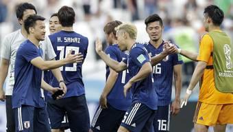 WM2018: Impressionen vom Spiel Polen - Japan