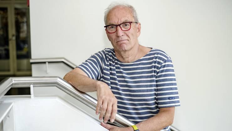 Er blickt zurück auf Kolumnen und Karriere: Roland Stark (68).