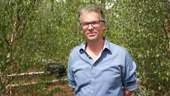 Ralph Hoffmann erzeugt mit fremden Bäumen eine heimelige Birkenwaldstimmung.
