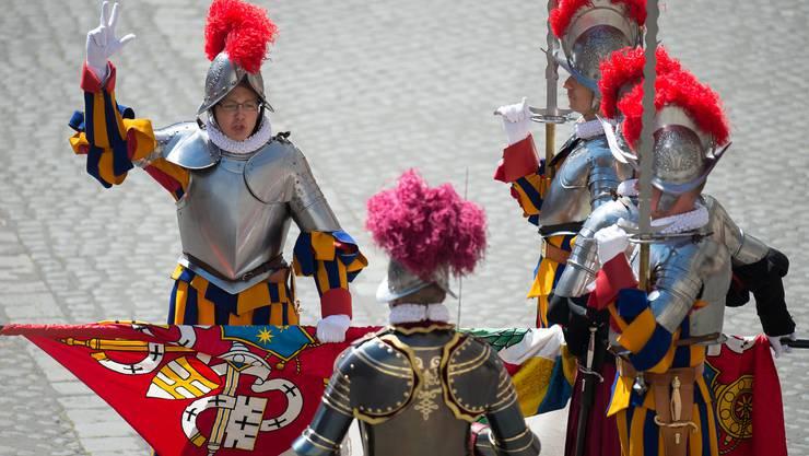 Am 6. Mai leistete Michael Studer in Rom seinen Eid als Schweizergardist.