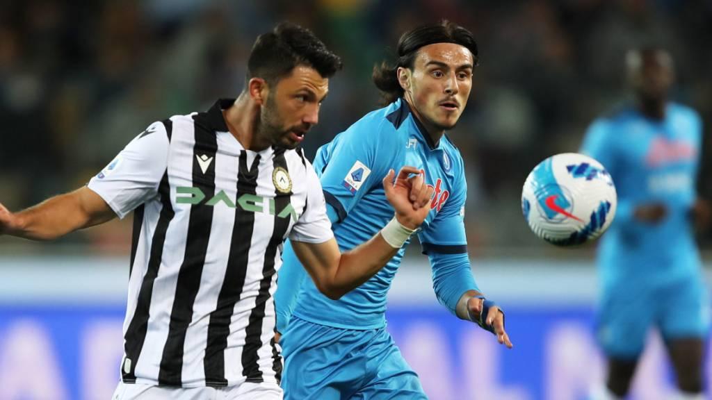 Napoli nach vier Runden mit dem Maximum