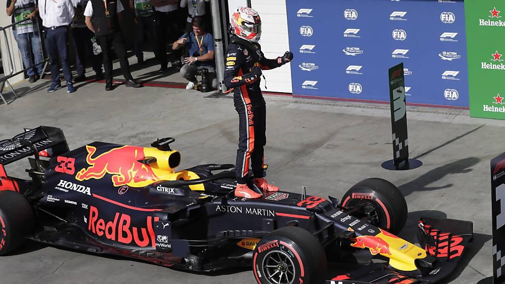 Verstappen Schnellster in São Paulo - Räikkönen mit Startplatz 8