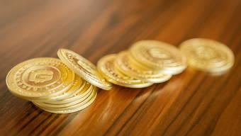Eine weitere Kryptowährung sind die Giracoins. Münzen wie die abgebildeten dienen als Marketingmittel, haben aber keinen Wert.