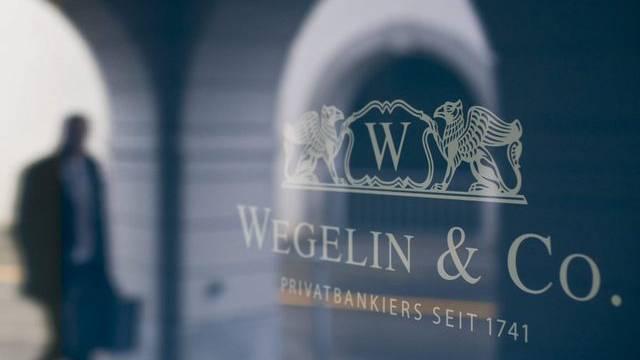 Blick auf den Hauptsitz der Bank Wegelin in St. Gallen (Symbolbild)