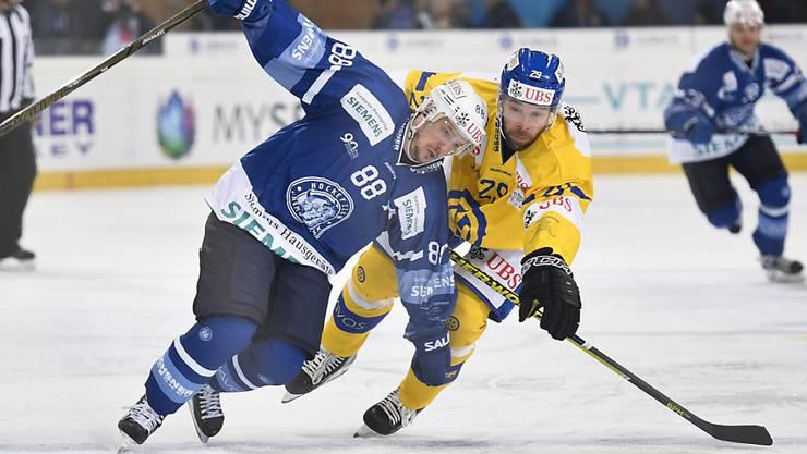 Dynamo Minsk kam gegen den HC Davos zwar ins Straucheln, sicherte sich aber dennoch den Gruppensieg