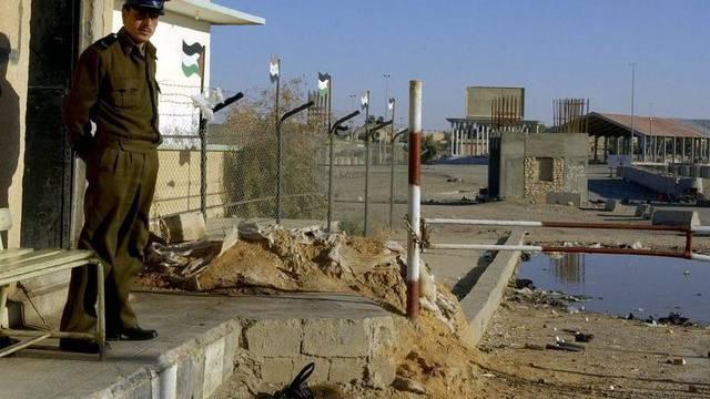 Ein Grenzposten zwischen Syrien und dem Irak (Archiv)