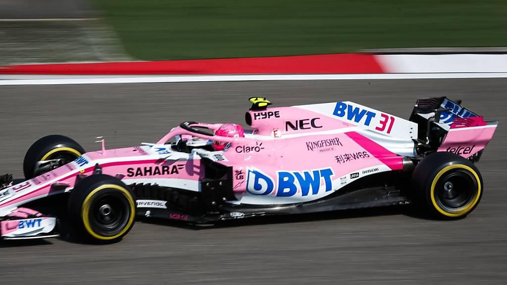 Team Force India heisst in Zukunft Aston Martin