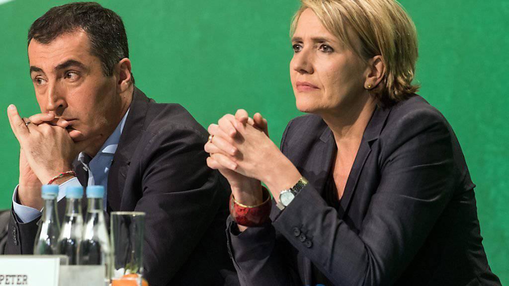 Das Führungsduo der deutschen Grünen: Simone Peter und Cem Özdemir. (Archivbild)