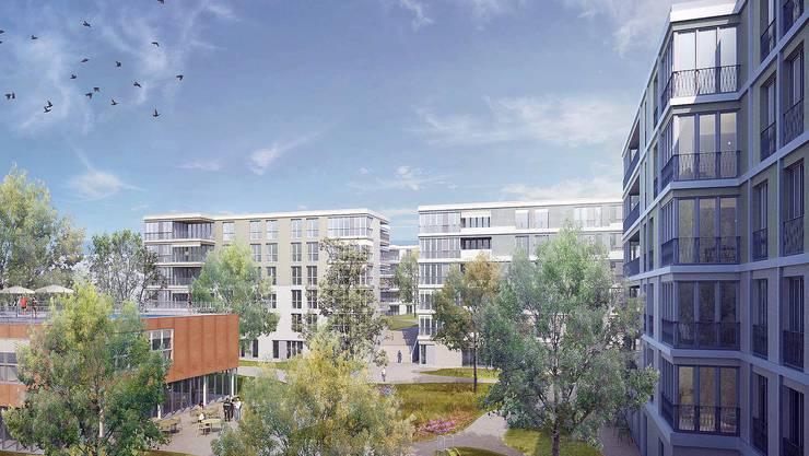 Das Siegerprojekt sieht einige gemeinschaftliche Einrichtungen für die Bewohner vor.