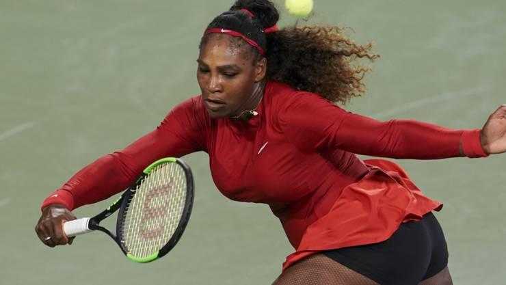 Serena Williams gerät gegen Petra Kvitova in Bedrängnis