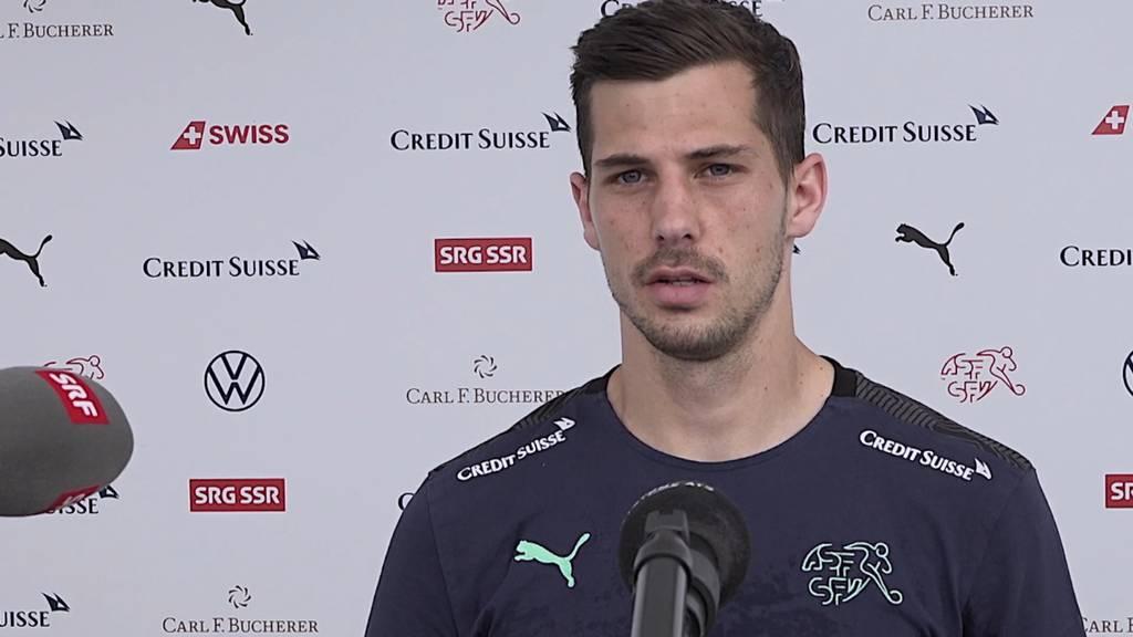 Freuler vor Italien-Spiel: «Wenn du Angst hast, musst du gar nicht antreten.»