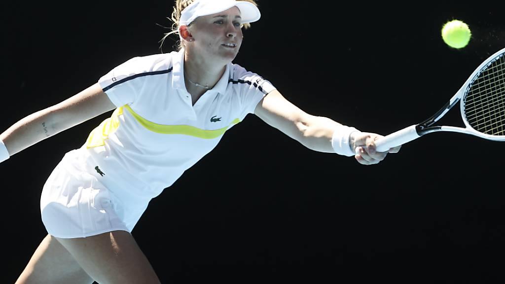 Verlängert ihren Australien-Aufenthalt weiter: Jil Teichmann steht beim 250er-Turnier in Melbourne im Viertelfinal