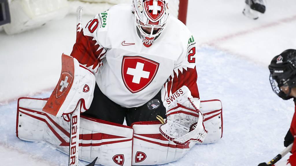 Trotz 61 erfolgreichen Paraden von Andrea Brändli war die Schweiz gegen Kanada erneut chancenlos